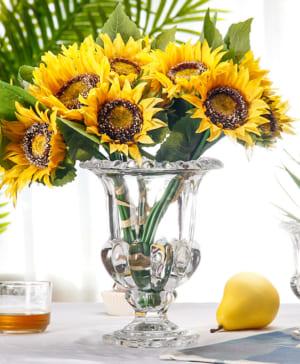 Bình hoa thủy tinh 9